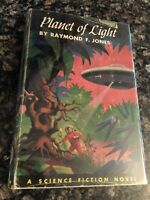 First Edition - 1953 - Planet of Light by Raymond F. Jones - Vintage Sci Fi HC