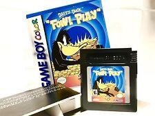 Daffy Duck Fowl Play Nintendo Game Boy Color GBC •in Box w/ insert•