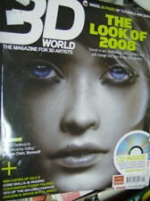 3D World Magazine January 2008   CD, Look of 2008 #99