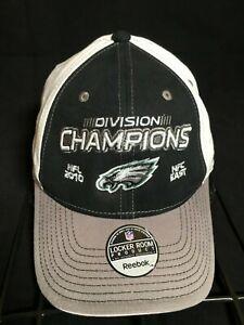 2010 PHILADELPHIA EAGLES NFC EAST DIVISION CHAMPIONS REEBOK HAT NFL FOOTBALL