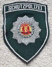EAST GERMAN POLICE PATCH DDR NVA Badge Uniform Volkspolizei Schutzpolizei GDR