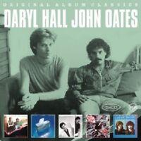 DARYL HALL & JOHN OATES - ORIGINAL ALBUM CLASSICS (OOH YEAH/+)  5 CD  NEW!