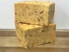 Red Hot Chilli Cheese 750g  Double Gloucester With Hot Chilli Sauce , Vegetarian