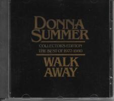 DONNA SUMMER - Walk away - Collector's Edition 1977-1980 CD 9TR Casablanca RARE