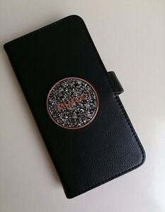 BNWT MIMCO BLISS Flip Case For iPhone 6P/7P/8P PLUS SZ Black ROSE GOLD, New,AUTH