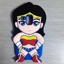 Cover CUSTODIA per SAMSUNG GALAXY S3 MINI Silicone 3D SUPEREROI WONDER WOMAN