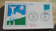 FDC Enveloppe Premier Jour - CEF - Congrès mondial transports à câbles 17/06/87
