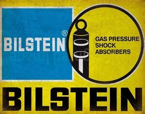 BILSTEIN SHOCK ABSORBERS GARAGE METAL TIN SIGN POSTER WALL PLAQUE