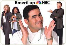 Emeril Lagasse 2001 sit-com EMERIL, 2 Rare DVDs, 7 episodes, Food Culinary Humor