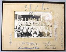 1928 USC Baseball Team Signed Photo, from Japan tour. 17 autographs + PSA letter