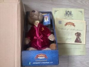 Alexander Meerkat Compare The Market Toy And Certificate