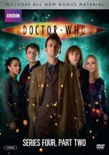 DOCTOR WHO-DOCTOR WHO:SERIES FOUR PART TWO   - BRAND NEW UNIQUE- BBC - 2 DISC