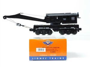 O Gauge 3-Rail Lionel 6-29869 Bethlehem Steel Crane Car #29869