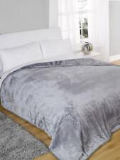 Couvertures traditionnels gris pour le lit, pour chambre