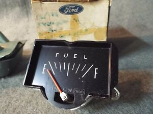 NOS Fuel/Gas Gauge 1967 Mercury Monterey Montclair Colony-Park-Lane S-55/390/428