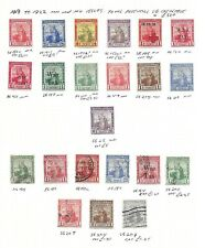 Trinidad & Tobago Stamp Collection George V 1913-1922. SG Cat: £50+
