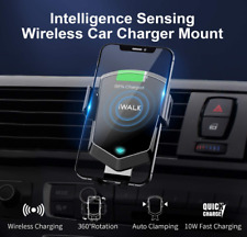iWALK Wireless Car Charger Qi Gravity Sensor Phone Holder iPhone Pro Samsung