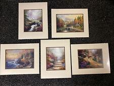 New ListingThomas Kinkade: Decades Of Light Folio by Thomas Kinkade 5 Prints