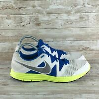 Nike Lunarfly 3 Breathe Mens Size 11 White Athletic Training Running Shoes