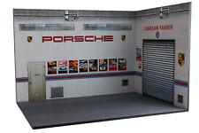 Diorama Garage atelier | German Car Workshop - 1/18ème - #18-3-F-AX-AY-004