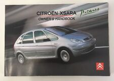 xsara car manuals and literature ebay rh ebay co uk Citroen Xsara Rally Citroen Xsara Rally