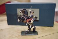 Frontline Figures British 11th Hussars Officer Hand Painted Metal Cavalry