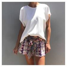 CAMILLA FRANKS Mother Knows Best Silk Shorts BNWT Size M or Size 12