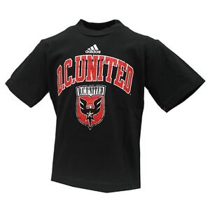 D.C. United Official MLS Adidas Apparel Infant Toddler Size T-Shirt New Tags