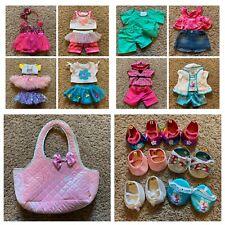 Build A Bear Clothes Lot Shoes Accessories Princess Bag Frozen Doctor Denim