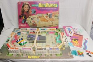 Vintage 1989 Mall Madness Game Milton Bradley Electronic Game Works COMPLETE