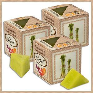 3 x  Duftwachs Zitronengras | Aroma Duftkerze Schmelzwachs Wax Aromatic