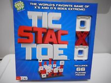 Pressman Tic Stac Toe - X's + 0's Goes Extreme - New