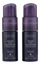 Alterna Caviar Sheer Dry Shampoo 2 ct 1.2 oz. Sealed Fresh