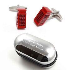 Rosso Cabina Telefonica Gemelli & inciso scatola regalo