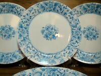 "SET OF 4 - CORNING CORELLE - VINTAGE BLUE - 10 1/4"" DINNER PLATES - NOS - HTF"