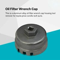 Oil Filter Wrench Cap Housing Tool Remover 64.5mm 14 Flutes For Toyota Lexus un