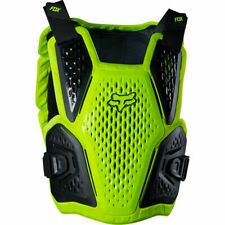 Fox 2020 Raceframe Impact Chest Protector/Roost Guard Flo Yellow L/XL