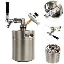 64Oz Homebrew Kegerator Kit W/Beer Dispensor&CO2 Regulator& Stainless Steel Keg