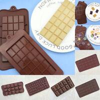 Silicone Fondant Cake Mold Mould Chocolate Baking Sugarcraft Candy Decor Tools