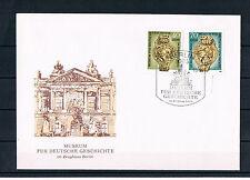 """Briefmarken DDR 1990 """"Museum für Dtsch. Geschichte"""" FDC"""