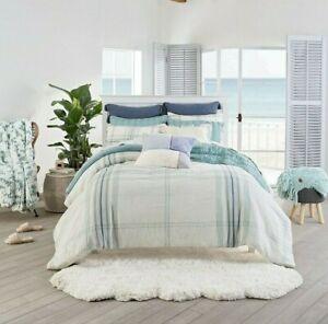 UGG Simone 3-Piece Full/Queen Comforter Set in Blue Crush