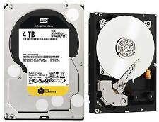 Western Digital RE 4TB ENTERPRISE WD HDD 7200RPM SATA WD4000FYYZ WD4002FYYZ Gold
