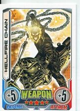 Marvel Hero Attax Series 2 Base Card #183 Hellfire Chain [Ghost Rider]