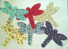 Country Flora Dragonflies Large fabric Pack remnants patchwork bundle 100%cotton