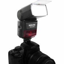 Bower SFD5400 Flash for Nikon D5600 D5500 D3400 Canon 80D 70D T8i T7i T7 T6i T6s