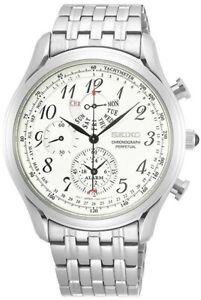 SEIKO SPC251P1 Perpetual Calendar Chronograph 50M Gents 2 Year Guar RRP £320.00