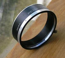 yashica fit petri badged Lens hood  57mm clamp on over  55mm for  rangefinder