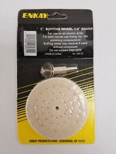 "Enkay # 160-C 3"" Buffing Wheel Carded"