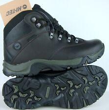 HI-TEC OTTAWA II WP Herren Boots Wanderschuhe Leder Schuhe Dunkelbraun Gr.44 NEU