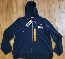 NWT Womens Navy TOMMY HILFIGER Full Zip Hoodie Jacket...